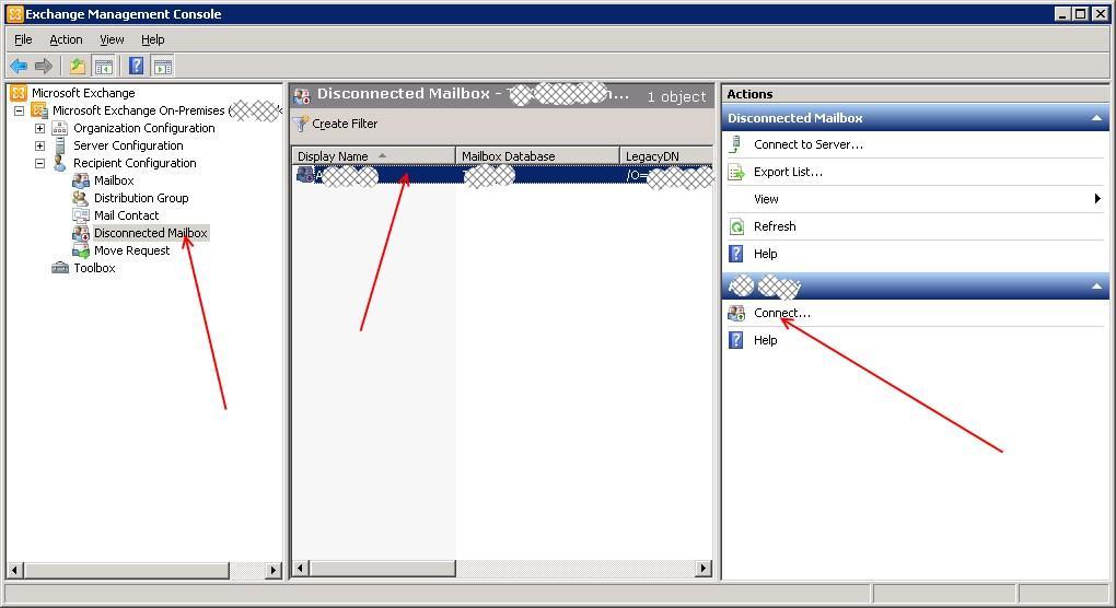 Exchange 2010: User stop receiving emails when account is